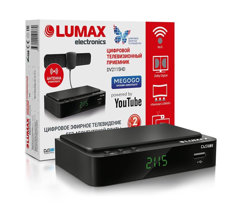 Купить Приемник телевизионный DVB-T2 Lumax DV4210HD в ...